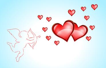 kupidyn i serca