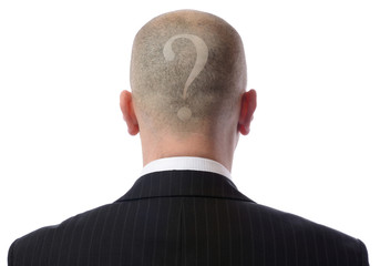 back of head question