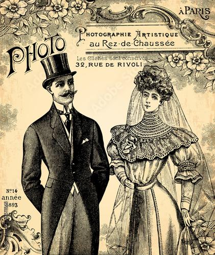 Le mariage 1900