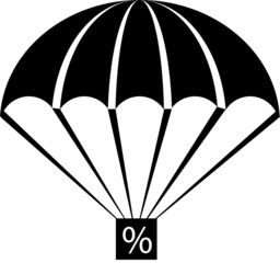 parachute percentage