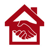 Handshake and successful real estate transactions