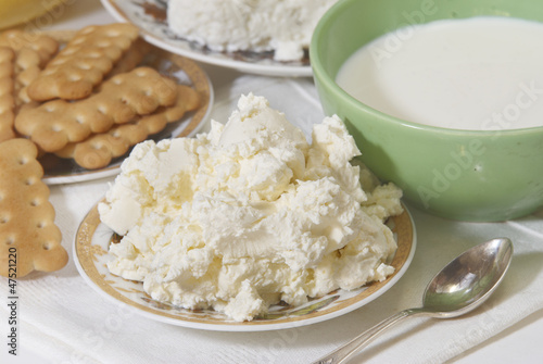 Breakfast, cottage cheese