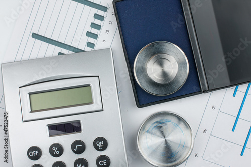 Calculator and print