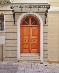 elegant house door, Athens Greece
