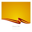 Spanish flag abstract color background vector