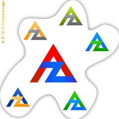A. Z. and  Z. A. Company Logo