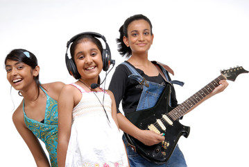 Indian Children music band