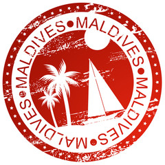 Stamp - Maldives