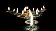 Kerzenflammen-Pfeil