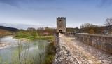 Puente medieval de Frias (Burgos) poster