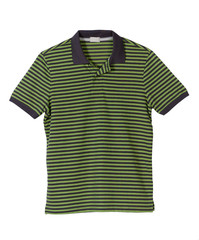 Green strip t-shirt for men