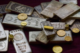 Gold and Silver Bullion - Bars, Ingots, Coins and Gold Rings - 47530024