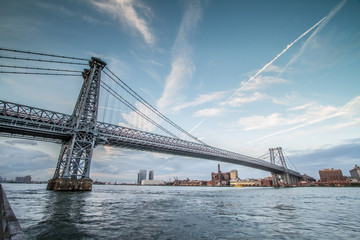 Williamsburg Bridge Daytime in NYC