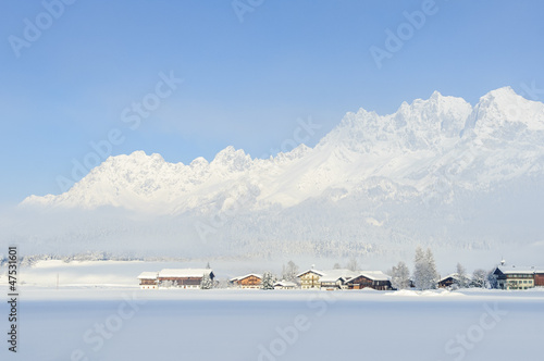 Winter am Wilden Kaiser