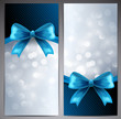 Card with Blue Bow