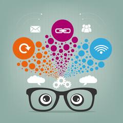 inspiring cloud computing concept