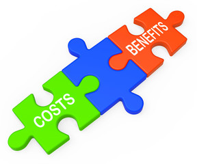 Costs Benefits Shows Analysis Of Investment