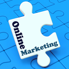 Online Marketing Shows Internet Strategies And Development