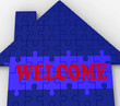 Welcome House Shows Friendly Invitation To Property
