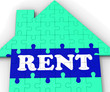 Rent House Shows Rental Property Agents
