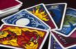 Fächer aus Tarotkarten