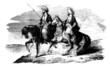 2 Arabian Riders - 19th century