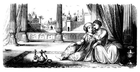 1001 Nights - Arabia : Husband & Wife
