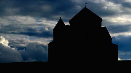 Armenia Hripsime clouds