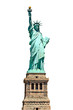 Statue of Liberty - isolated on white - 47538822