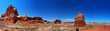 Panorama Arches National Park, USA