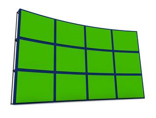 Pantallas chroma verde