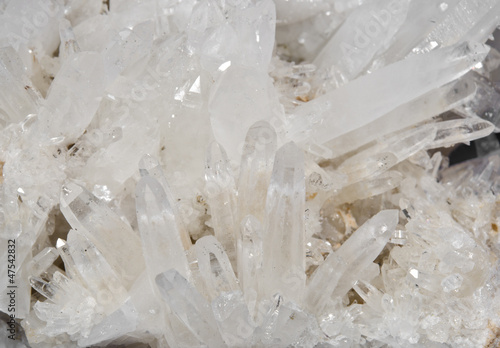 mountain crystal macro
