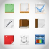 notebooks vector icons