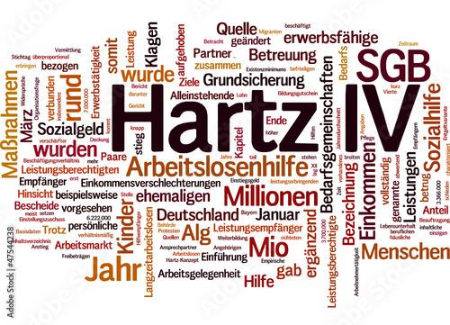 Hartz IV (Hartz 4 oder ALG II)