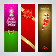 Happy New Year 2013 banner design collections