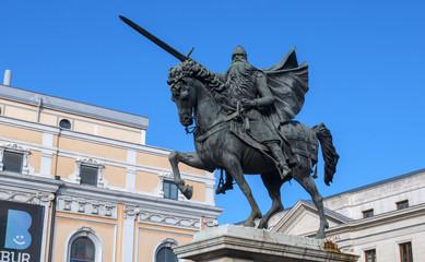Estatua del Cid Campeador, en Burgos