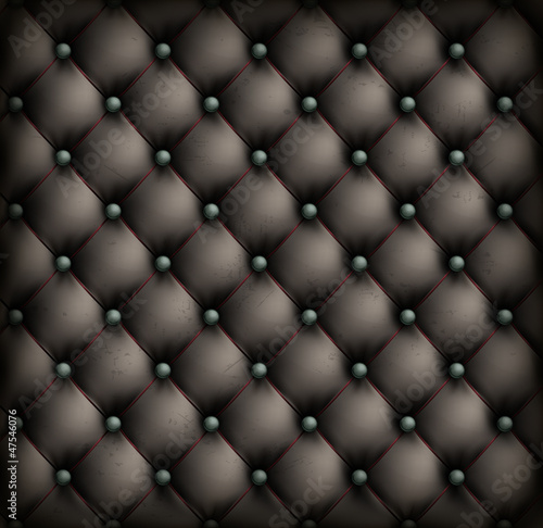 Vintage leather upholstery background