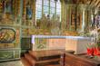 Intérieur de léglise de sainte marie du Ménez Hom