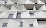 Modernist facade poster