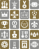 Prizes & Awards icons
