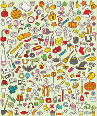 Big Doodle Icons Set : collection of small icons : No. 8