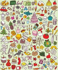 Big Doodle Icons Set : collection of small icons : No. 2