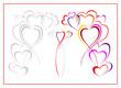 Wzór z sercami