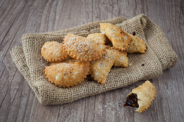Traditional south italiy pastries