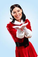 pretty santa girl