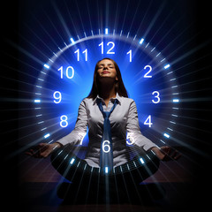 Clock. time concept