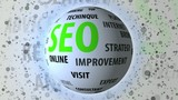 SEO related keywords rotating sphere