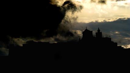 Malta Gozo Citadel sky summoning