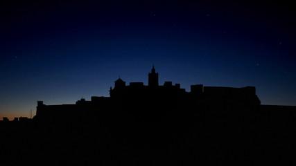 Malta Gozo Citadel sunset