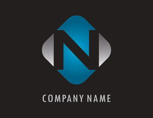 N business logo